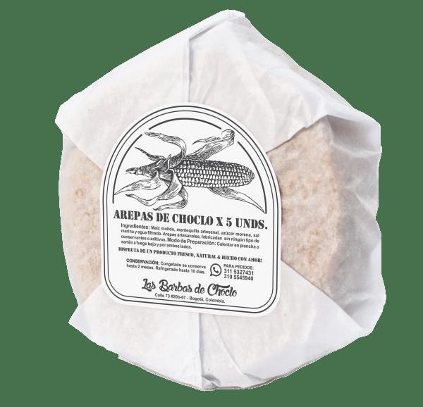 Arepas de choclo tradicionales